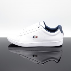 LACOSTE Carnaby Evo 119 Blanc/Bleu Homme 7-37SMA0013407