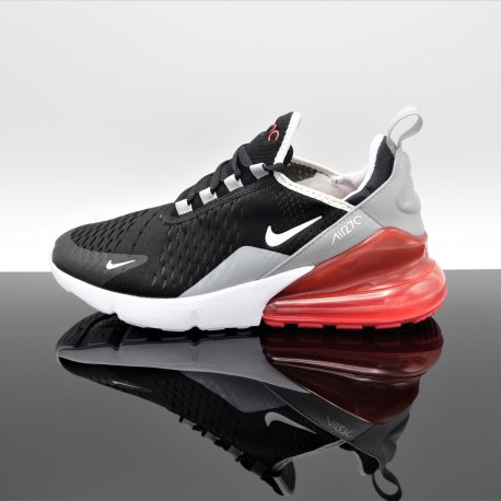 NIKE Air Max 270 Noir/Rouge Femme/Junior 943345-013