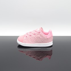 ADIDAS Stan Smith Rose/Blanc Bébé F34170
