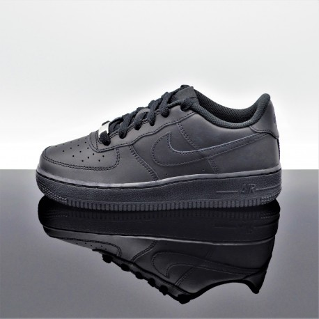 NIKE Air Force 1 Noir Femme/Junior 314192-009