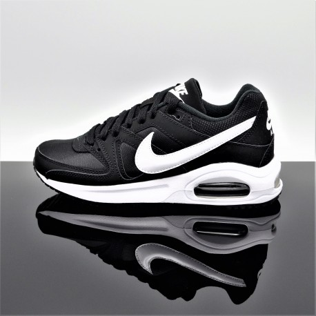 NIKE Air Max Command Flex Noir/Blanc Femme/Junior 844346-011