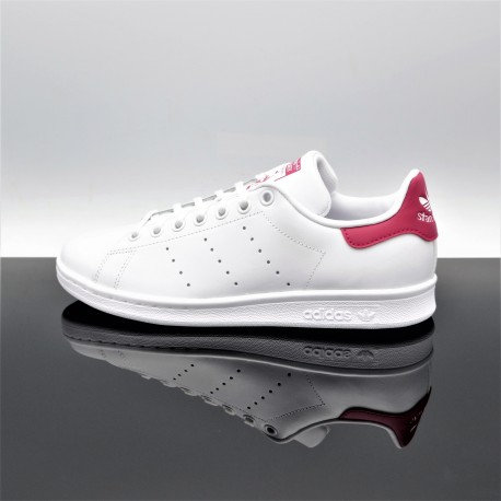 adidas stan smith blanche et rose femme