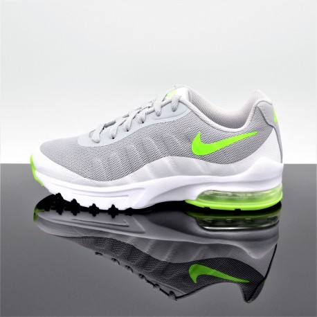 NIKE Air Max Invigor GrisVert FemmeJunior 749572 007