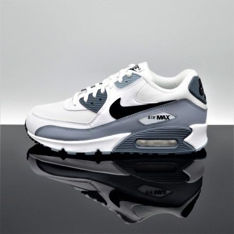 magasin d'usine cce89 b2899 NIKE Air Max 90 Essential Blanc/Gris Adulte AJ1285-108