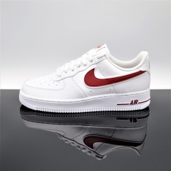 NIKE Air Force 1 Blanc/Rouge Adulte AO2423-102