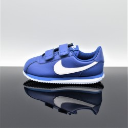 NIKE Cortez Basic Bleu/Blanc Enfant 904767-402
