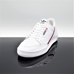ADIDAS Continental 80 Blanc/Rouge Adulte G27706