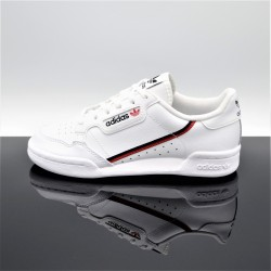 ADIDAS Continental 80 Blanc/Rouge Femme/Junior F99787