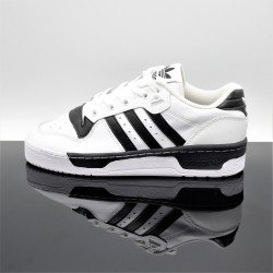 ADIDAS Rivalry Low Blanc/Noir Adulte EG8062
