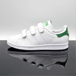 ADIDAS Stan Smith Blanc/Vert Adulte S75187