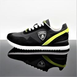 LAMBORGHINI L Sneakers Noir/Blanc Adulte E0XVBSA1