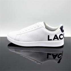 LACOSTE Carnaby Evo 120 Blanc/Bleu Adulte 7-39SMA0052042