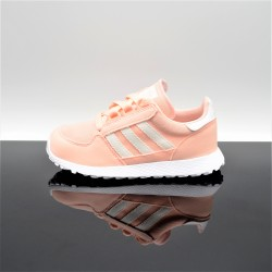ADIDAS Forest Grove Rose/Blanc Enfant F34329