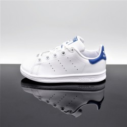 ADIDAS Stan Smith Blanc/Bleu Enfant BB0694