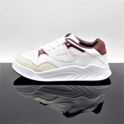 LACOSTE Court Slam 319 Blanc/Rouge Junior 7-38SFA00381Y8